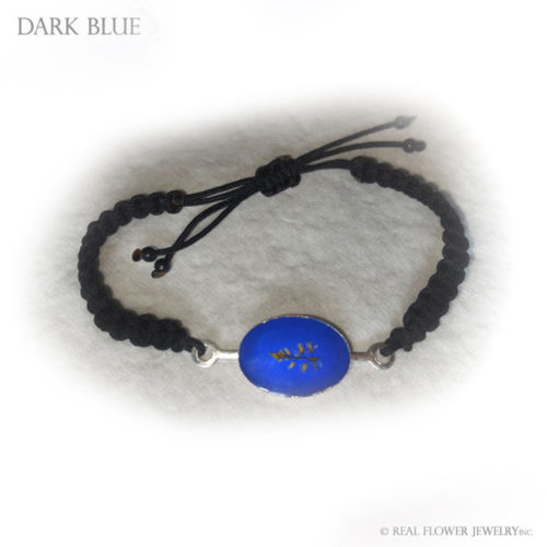 Wild Flower Bracelet (Dark Blue)