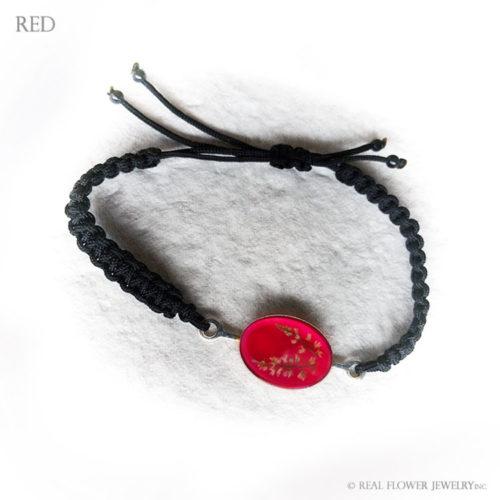 Wild Flower Bracelet (Red)