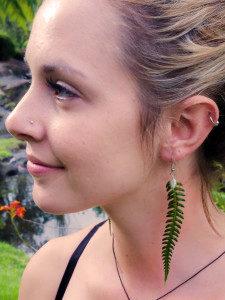 Bold Fern Earrings