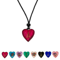 Flower Heart-Pendant