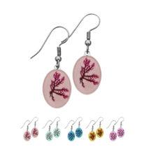 Real Hawaiian Seaweed Earrings - Only @ Real Flower Jewelry!